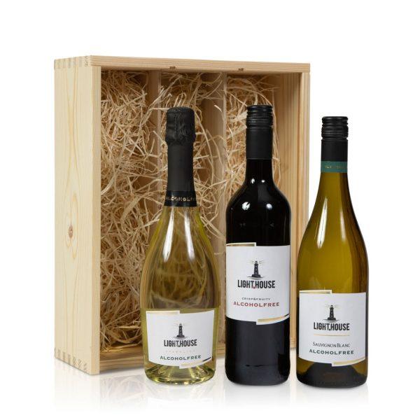 Alcoholvrije wijn pakket