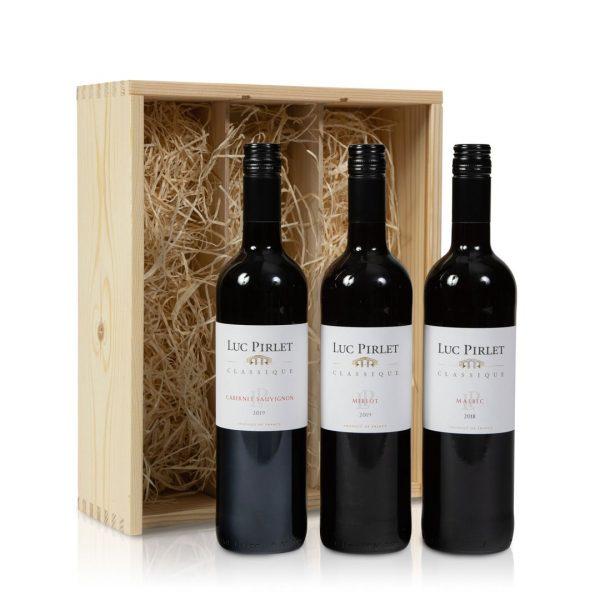 Rode wijn pakket
