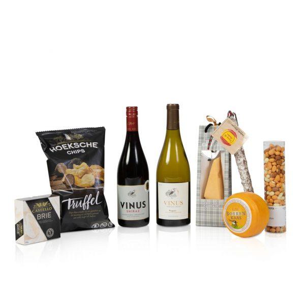 Wijn en spijs pakket