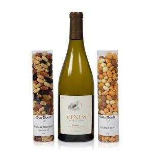 Wijnpakket met nootjes