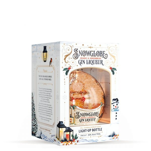Snow Globe Orange & Gingerbread Gin Likeur
